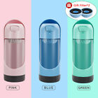 Pet Portable Water Bottle Dog Water Dispenser with Activated Carbon  Free Gifts