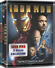 Iron Man 3 Movie Collection DVD, 2015, 3-Disc Set NEW Free Shipping