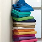 Extra Deep Pocket 6 PC Sheet Set Solid Colors 1000 TC Egyptian Cotton Queen Size image