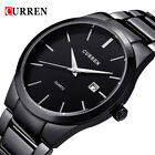 CURREN Men Quartz Watch Casual Male Business Calendar Watches Analog Wristwatch image