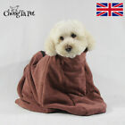 Microfibre Dog Dry Bath Towel Bag Fast Drying Doggy Cleaning Absorbent Bathrobe