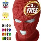 Kyпить 3 Hole Full Face Mask Ski Mask Winter Cap Balaclava Outdoor Beanie Tactical Hat на еВаy.соm