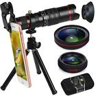 22X Zoom Telephoto Phone Camera Lens + 0.5X Wide Angle Macro Lens for iPhone 11