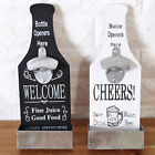 Pro Stand Up Bottle Opener&Cork Catcher Wall Mounted Bar Beer Opener Supply New
