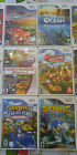 Wii Video games-17 Wii games sold individually (discounts for buying 2 or more)