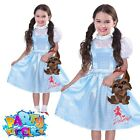 Kids Girls Wizard of Oz Dorothy Costume World Book Day Child Fancy Dress Outfit