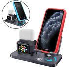 3 in 1 Charger Stand Apple Watch Airpods Pro iPhone iPad Holder Charging Station