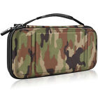 For Nintendo Switch Carry Case Portable Travel Bag Hard Shell+10 Game Card Slots