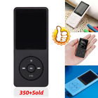 128GB Playback MP4 MP3 Lossless Sound Music Player Card Hour FM 70 Recorder X4Y1