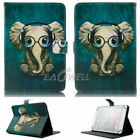"For 9.7-10.1"" inch Tablet Music Elephant Universal Leather Case Cover/Keyboard"