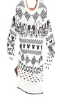 Disney Character Mickey Friends Girls Holiday Christmas Sweater- Black/White