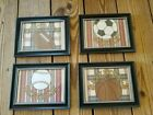 5x7 Sports Pictures Bedroom Football Baseball Soccer Basketball Wall Hangings