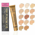 Makeup High Cover Makeup Foundation Hypoallergenic Waterproof Dermacol SHIP USA