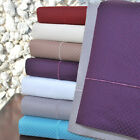 Checkered 800-Thread-Count Pillowcases Set, Cotton Blend, 7 Colors image