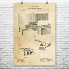 Hollerith Statistics Computer Poster Print Engineer Gifts Retro Technology