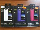 Mophie Juice Pack Air 100% Extra Battery White Purple Pink Case For iPhone 6/6s