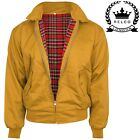 Relco NEW Mustard Yellow Harrington Jacket Skin Mod Scooter Ska Northern Soul