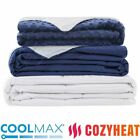 Heavy Weighted Blanket Queen Full 60''x80'' 15lb 20lb Promote Deep Sleep L9I0 image