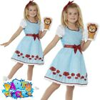 Kids Girls Country Girl Dorothy Costume World Book Day Week Fancy Dress Outfit