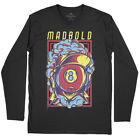 Mad Bold Sport T-Shirt 8 Black Ball Snooker Eight Pool Billiards Table Pl D640LS $18.52 USD on eBay