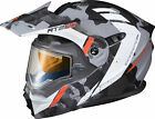 Scorpion EXO-AT950 Outrigger Helmet w/Electric Shield MATTE GREY