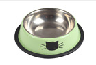 New Dog Cat Food Dish Bowls Stainless Steel Feeding Feeder Water Bowl Outdoor