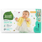 Seventh Generation Free & Clear Baby Diapers NB thru 2 (Choose your Size)