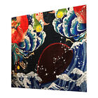 Wall Hanging Tapestry Decor Bedspread Japanese Art Painting Wave Poster Slogan