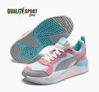 Puma X-Ray Bianco Rosa Scarpe Shoes Donna Sportive Sneakers 372920 05 2020