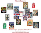Kyпить Stamp Packets Chose From 14 Different Packets From Dropdown Menu FREE SHIPPING на еВаy.соm