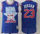 NEW Michael Jordan No.23 Chicago Bulls 1993 All Star Throwback Blue Jersey Men on eBay