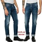 Jeans uomo REPLAY straight GROVER  comfort denim regolare vintage MA972 115 631