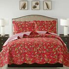 Jennifer 3 Piece Quilt Set queen and king size - Red image