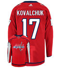Ilya Kovalchuk Washington Capitals Adidas Authentic Home NHL Hockey Jersey