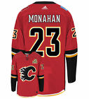 Sean Monahan Calgary Flames Adidas Authentic Home NHL Hockey Jersey