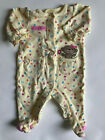 Lots of Girl's Size NB Newborn One Piece Footed Pajama Sleeper Outfit Carter's +