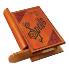 Book of Spells Puzzle Box - Carved Wooden Storage Chest with Puzzle Lock