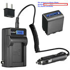Kastar Battery LCD AC Charger for Sony NP-QM91D & Sony CCD-TRV138 CCD-TRV150