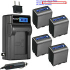 Kastar Battery LCD AC Charger for Sony NP-QM91D & Sony DCR-PC8 DCR-PC9 Camera