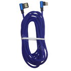 90 Degree Type C Cable 3/ 6/ 10Ft Fast Charging Data Cord USB C Android Charger