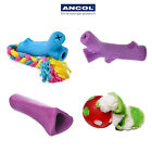 Ancol Rubber Chew Toys Re-Tree Ver Knuckle Bone Strong Durable Rope Teething