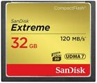 SanDisk 8/16/32/64gb CF Ultra Extreme Pro Compact Flash Memory Card For Camera