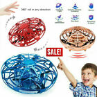 Mini Drone Hand Controlled Flying UFO Aircraft Infrared Sensor Gesture Induction