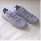New Womens Converse CTAS OX Low Top Purple Lilac Sneakers Sz 6 7 8 9