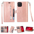 For iPhone 11 Pro Max 11 Magnet Leather Flip Stand Card Wallet Stand Case Cover