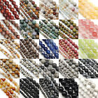 Kyпить Wholesale Lot Natural Gemstone Round Spacer Loose Beads 4mm 6mm 8mm на еВаy.соm