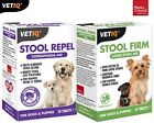 VetIQ Stool Repel Coprophagia & Behaviour Aid & Stool Firm Aid Tablets For Dogs