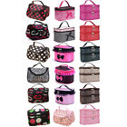 Used, Women Travel Cosmetic Bag Makeup Case Pouch Nail Tech Vanity Toiletry Organizer for sale  Shipping to Ireland