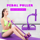 Fitness Gum 4 Tube Resistance Bands Pedal Exerciser Gym Accessories For Women image