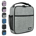 Insulated Lunch Bag Splash Proof Mini Portable Thermal Lunch Box Cooler Tote
